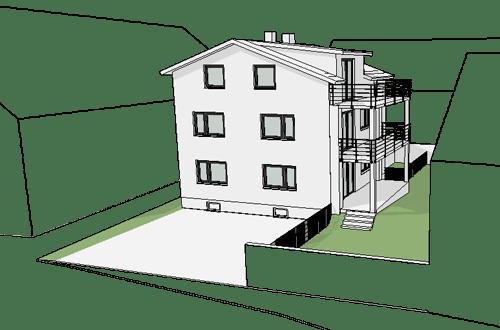 Baugenehmigungsplanung MFH Buxheim 2020